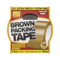 151 BROWN PACKING TAPE 48MMX0.045MM (TT1027) BOX