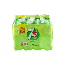 7UP REG BOTTLE PM.£1.19 OR 2 FOR £2 BOX