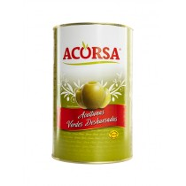 ACORSA GREEN OLIVES PITTED BOX
