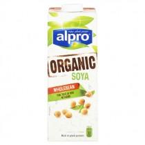 ALPRO ORGANIC SOYA WHOLEBEAN  BOX
