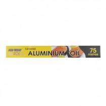 ALUWRAP ALUMINIUM FOIL LARGE (45cmx75m) EACH