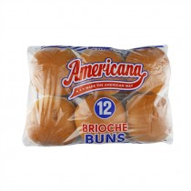 AMERICANA BRIOCHE BURGER BUN 4.5 BOX