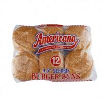 AMERICANA SEEDED BURGER BUNS 4.5