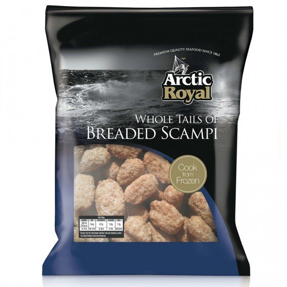 ARCTIC ROYAL WHOLE TAIL SCAMPI EACH