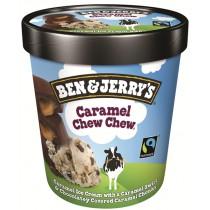 BEN & JERRY CARAMEL CHEWY ICE CREAM EACH