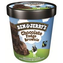 BEN & JERRY CHOCOLATE / FUDGE ICE CREAM EACH
