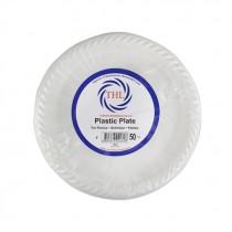 BESTHOUSE PLASTIC PLATE MEDIUM 23CM/9