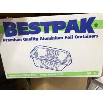 BESTPAK FOIL CONTAINER NO 2 (PREMIUM BRAND) BOX