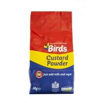 BIRDS INSTANT CUSTARD POWDER (ADD MILK + SUGAR) BOX