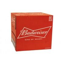 BUDWEISER LAGER BEER BOTTLE BOX