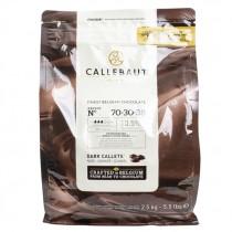 CALLEBAUT BELGIUM CHOCOLATE DARK 70.5% (EXTRA BITTER) EACH