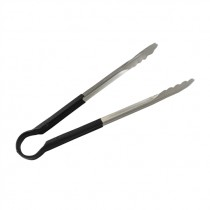 CANMAC BLACK FOOD TONG 12'' EACH
