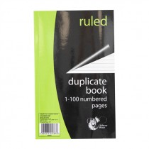 CHILTERN WOVE DUPLICATE BOOK RULED 100 PAGES (SS553) BOX