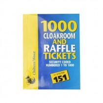 CHILTERN WOVE 1000 RAFFLE & CLOAKROOM TICKET BOX