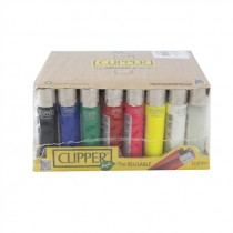 CLIPPER LIGHTERS COLOURFUL BOX