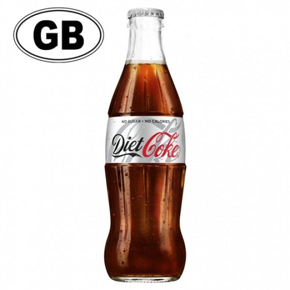 COCA COLA DIET COKE GLASS NRGB 330 BOX