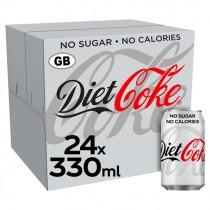 COCA COLA DIET COKE CAN GB PM £0.69P BOX