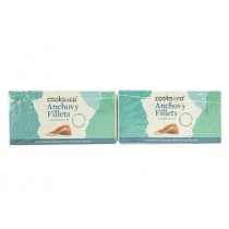 COOKS&CO FLAT ANCHOVY FILLETS IN SUNF. OIL   PACK