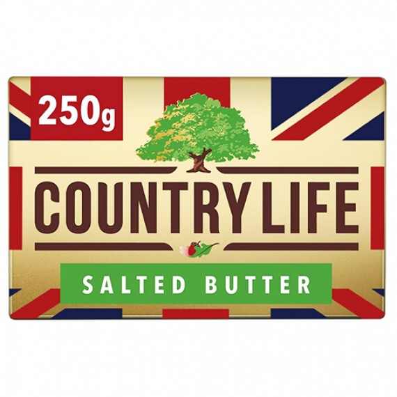 COUNTRYLIFE SALTED BUTTER BOX