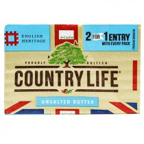 COUNTRYLIFE UNSALTED BUTTER BOX