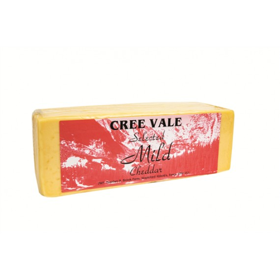 CREEVALE MILD BLOCK CHEDDAR CHEESE EACH