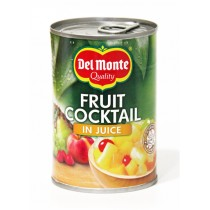 DEL MONTE FRUIT COCKTAIL IN JUICE     BOX