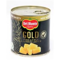 DEL MONTE GOLD PINEAPPLE CHUNKS IN JUICE BOX