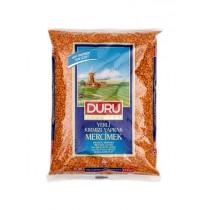 DURU RED LENTILS SPLIT ( YAPRAK MERCIMEK ) BOX
