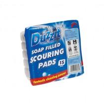 DUZZIT SOAP FILLED SCOURERS  BOX