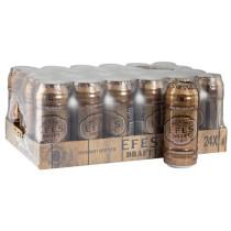 EFES DRAFT BEER CANS  BOX