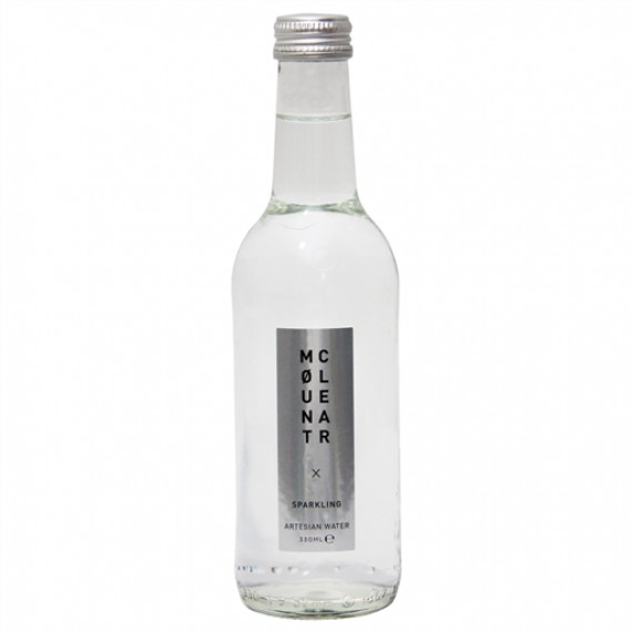 MOUNT CLEAR GLASS SPARKLING WATER BOX