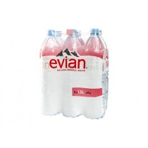 EVIAN NATURAL MINERALE WATER BOX