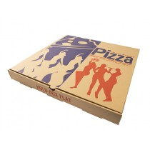 EXTRA BROWN PIZZA BOXES 18