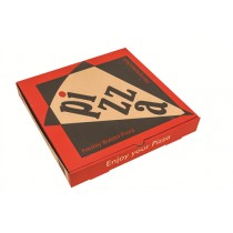 EXTRA BROWN PIZZA BOXES 10