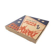 EXTRA BROWN PIZZA BOXES 14