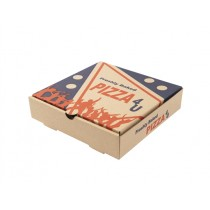 EXTRA BROWN PIZZA BOXES 7