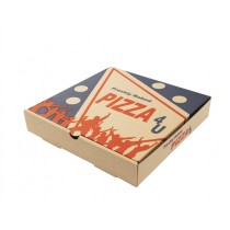 EXTRA BROWN PIZZA BOXES 9inc BOX