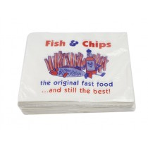 EXTRA FISH & CHIPS TAKEAWAY BAGS 14X11 BOX