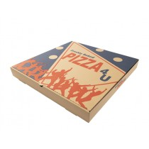 EXTRA BROWN PIZZA BOXES 16