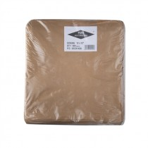 EXTRA BROWN KRAFT TAKEAWAY BAGS (12x12) PACK