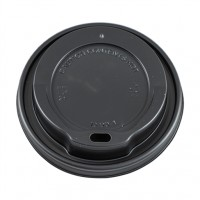 EXTRA LIDS FOR RIPPLE CUPS 12OZ/16OZ BLACK BOX