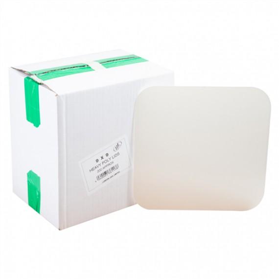 EXTRA FOIL LIDS NO 9 HEAVY DUTY GREEN TYPE BOX