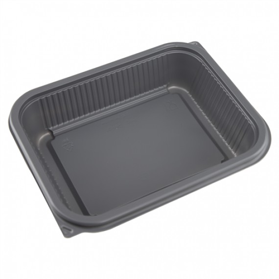 FAERCH BLACK BASE MICROWAVABLE 1000CC (2226-1C) BOX