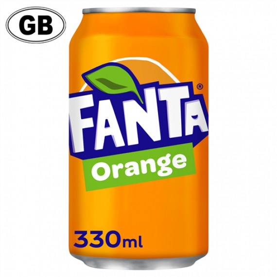 FANTA ORANGE CAN GB BOX