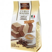 FEINY BIS CUBUS WAFERS CAPPUCCINO (93438) EACH