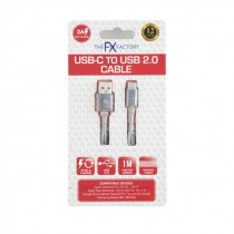 FX USB DATA CABLE FOR TYPE C SPACE GREY EACH