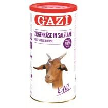 GAZI GOAT MILK CHEESE 50% TIN BOX