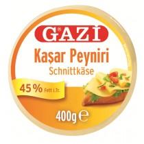 GAZI KASHKAVAL CHEESE 45% VAC KASAR BOX