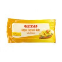 GAZI KASHKAVAL CHEESE 45% VAC KASAR ROLL BOX