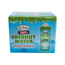 GRACE COCONUT WATER %100 BOX